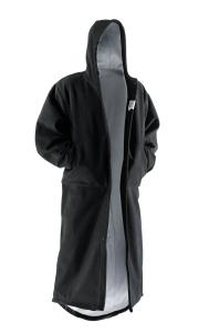black surf-fur open hands in pockets